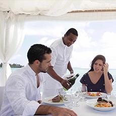 Déjeuners & Diners a l'ile maurice - Candock Wellness