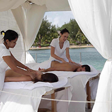 Massage a l'ile maurice - Candock Wellness
